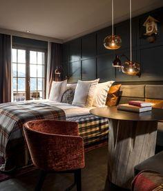 Bedroom - Huus Gstaad in Switzerland
