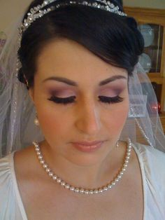 Purple Light Smokey - Perfect for Wedding Sister Wedding, Wedding Make Up, Wedding Reception, Wedding Stuff, Dream Wedding, Wedding Day, Wedding Hair And Makeup, Wedding Beauty, Hair Makeup