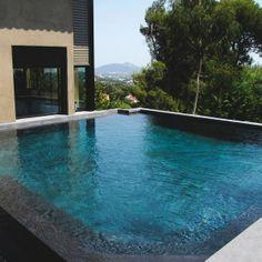 1000 images about piscine on pinterest piscine hors sol petite piscin - Prix piscine carre bleu ...
