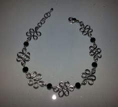 Bracelet en fil d'acier inox