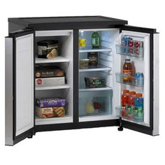 Avanti Energy Star 5.5 Cu. Ft. Counter Height Side by Side Refrigerator/Freezer Secondary Image