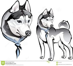Illustration about Dogs or cats paw prints web buttons / logos on white background. Illustration of mark, limpidity, foot - 6986383 Softball Logos, Husky Drawing, Dog Treat Jar, Cat Paws, Dog Treats, Easy Drawings, Cute Puppies, Sketches, Kitty