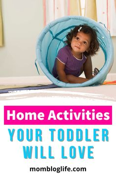 Running out of activities for your toddler? It's time to get creative with these 6 simple options. Most of them don't even require a trip to the store. #toddler #activities #momlife #momhacks Baby Sensory Ideas 3 Months, Sensory Activities Toddlers, Parenting Toddlers, Infant Activities, Family Activities, Parenting Tips, Toddler Stuff, Toddler Toys, Baby Sensory Board