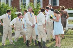 Silly guys!  We had a blast with this group.  #groomsmenphotos #weddingphotos www.farrahsphotography.net