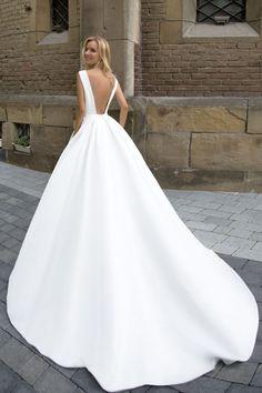 Robe de mariée élégante – Création Thérese (dos)