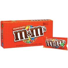 M&M's Peanut Butter - 1.63 oz. - 24 ct.