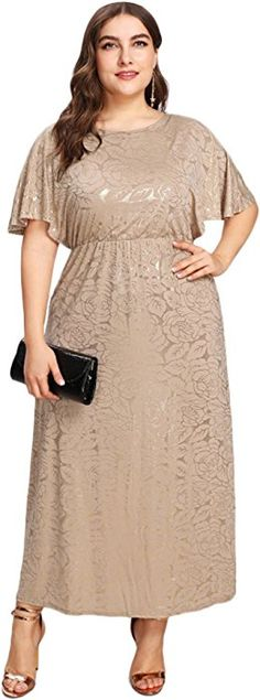 To find out about the Plus Fit & Flare Dolman Sleeve Dress at SHEIN, part of our latest Plus Size Dresses ready to shop online today! Night Gown Dress, Dress P, Skater Dress, Half Sleeve Dresses, Dresses With Sleeves, Anniversary Dress, Plus Size Summer Outfit, Plus Size Fashion Tips, Curvy Fashion
