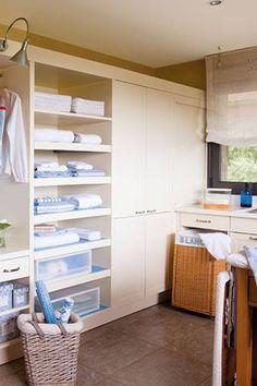 Cuartos de plancha on pinterest ironing board tables - Cuarto de lavado y planchado ...