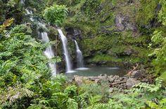 Hawaii-Urlaub planen Three Bears Falls