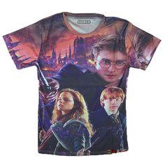 6c87f151c0ab90 2016 New Fashion Style Women s Men s Harry potter Print Casual T-Shirt