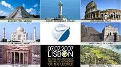 A Tour to the New 7 Wonders of the World