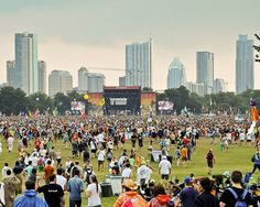 Gearing up for ACL festival #acl #aclfest