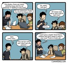 True story: Just find a solution | CommitStrip - Blog relating the daily life of web agencies developers