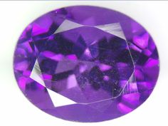 2.78 CT NATURAL AMETHYST LOOSE GEMSTONES PURPLE OVAL FACETED CUT 7.98 X 9.97 MM
