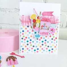 Bella Blvd | Popsicles & Pandas Collection | Card by Jamie Pate