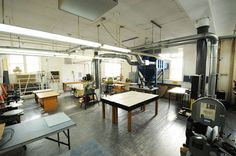 Academics | Architecture | About The School of Architecture | Production & CNC Facilities