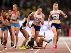 World Athletics Championships 2015: day nine – in pictures   Sport   Frances's Agnès Raharolahy falls before handing the baton to team-mate Floria Gueï in the women's 4x400m relay final