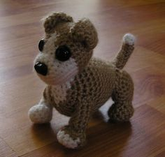 "crochet dog hat for pets | Free Pattern: Learn to Crochet This Adorable Puppy Dog ""Pet Project ..."