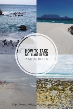 A simple guide on how to take wonderful photos at the beach. Travel Around Europe, Political Science, Beach Photos, Cape Town, Budget Travel, Take That, Simple, Water, Posts