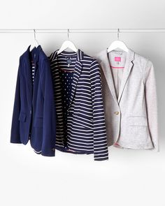 Women's Blazers -Soft and comfortable to wear, these blazers are a modern twist on a classic.