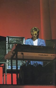 Nick Rhodes -Ahhhh the Fairlight