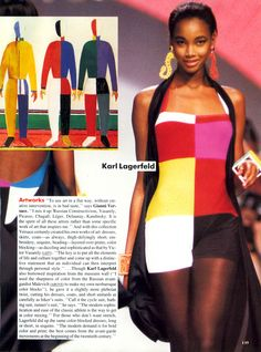 Beverly peele malevich inspired 1991