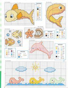 Schema punto croce Idee Infantili 33