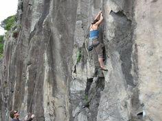 Won't let a wall get in the way of a good view #greatwalker #rockclimbing