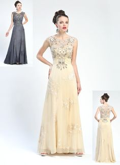 c6d03bf0a24ed Sue Wong - W4432 in Ant Champagne Dress Size 14 Dresses, Prom Dresses,  Formal