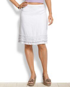 Two Palms Ruffle Skirt  Tommy Bahama - Finishing up my new wardrobe.