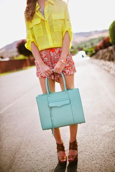Brights and Florals - Twenties Girl Style