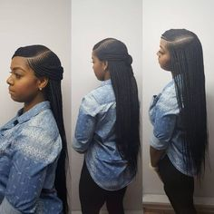 Book appts today Side part box braids - Box Braids Hairstyles Box Braids Hairstyles, Lemonade Braids Hairstyles, African Hairstyles, Black Women Hairstyles, Girl Hairstyles, Hairstyles 2018, Braided Hairstyles For Black Women Cornrows, Hairstyle Braid, Protective Styles