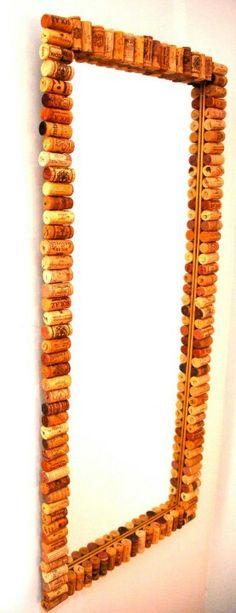 Espejo de corcho Www.eco-its.blogspot.com
