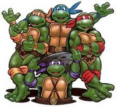 We also used to love to watch the original teenage mutant ninja turtles (: