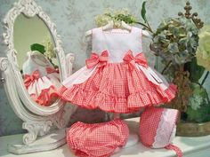 Cocolina moda infantil: PRIMAVERA-VERANO 2014. BLANCO Y ROJO.