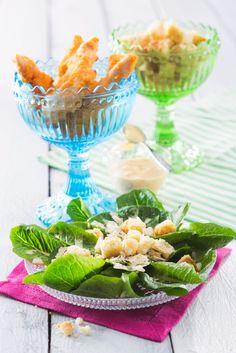 Caesar-salaatti | Amerikka | Pirkka Margarita, Koti, Tableware, Glass, Sweet, Candy, Dinnerware, Drinkware, Tablewares