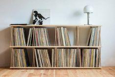 Sale On Interior Paint Record Player Cabinet, Record Shelf, Stereo Cabinet, Vinyl Record Storage, Audio Room, Attic Design, Furniture Inspiration, Storage Shelves, Shelving Ideas