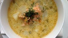 Lekka zupa ogórkowa