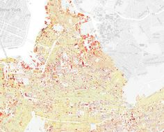 The Age of Every Building in Brooklyn / by Thomas Rhiel at Bkylnr