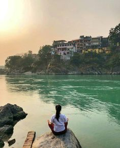 A fine day at the banks of River Ganges in , . Rishikesh India, Indian Boy, Work Travel, New Shows, Incredible India, Banks, Photography Poses, Places To See, Travel Destinations