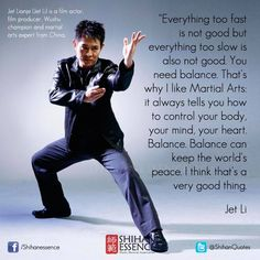 Exactly my point Jet Li... I keep telling this to people, yet they don't wanna listen to me..