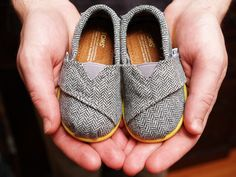 I cannot wait to buy my nephew baby TOMS!