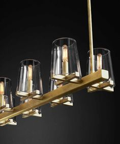 Jonathan Browning's Paulilac chandelier via the style saloniste