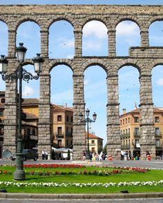 Acueducto romano de Segovia, España (Patrimonio de la Humanidad - Unesco 1985)