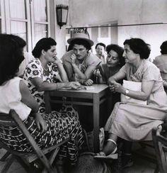 Café, Tel Aviv, 1949 (Robert Capa)❤️