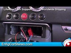 Radio installation Audi TT 1999-2006 - YouTube