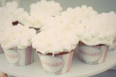 cupcakes that are supposed to look like tubs of popcorn @Evan Sherwood