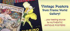 vintage commercial posters  that amaze...