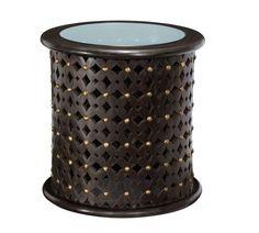 Decor Look Alikes | Pottery Barn Bamileke Carved Wood Side Table $399 vs $199 @west elm