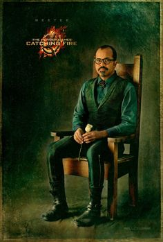 The Hunger Games - Capitol Portrait - Movie Poster - Character Beetee